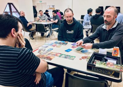 [ 7 Wonders ] 14 participants pour ce premier tournoi