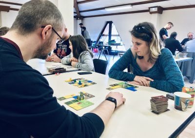 [ Kingdomino ] Le duel au sommet : la table finale de notre tournoi en 1vs1.