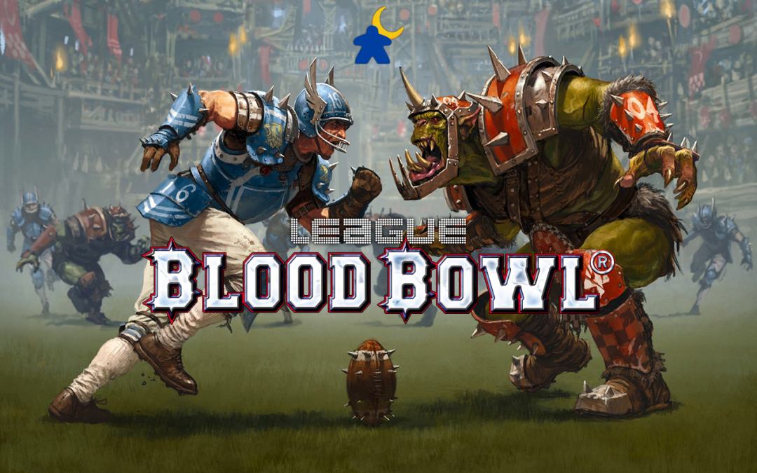 1er match Blood Bowl : ouverture de la ligue